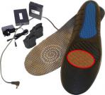Thermal insole with lithium battery