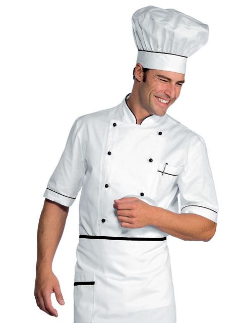 Giacche Cuoco Bianche Cot. 100% e Policot.  879b6d7078a2