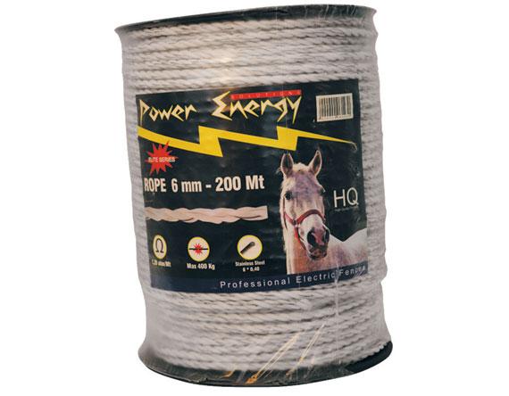 corde lectrique power energy 6 mm 200 mt shopping online antonio potenza srls. Black Bedroom Furniture Sets. Home Design Ideas